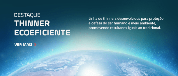 Destaque: Thinner Ecoeficiente